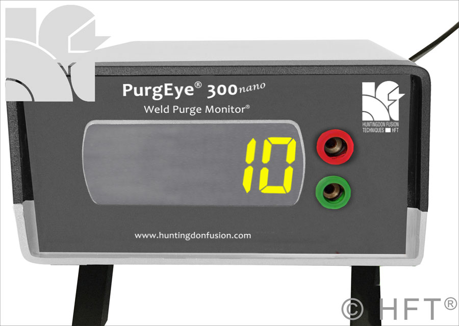 weld purge monitor, huntingdon fusion, oxygen monitor, gas analzyer, ppm trace