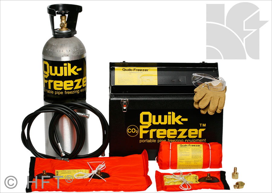 HFT Pipestoppers Qwik Freeze Pipe Freezing Quick Freezer