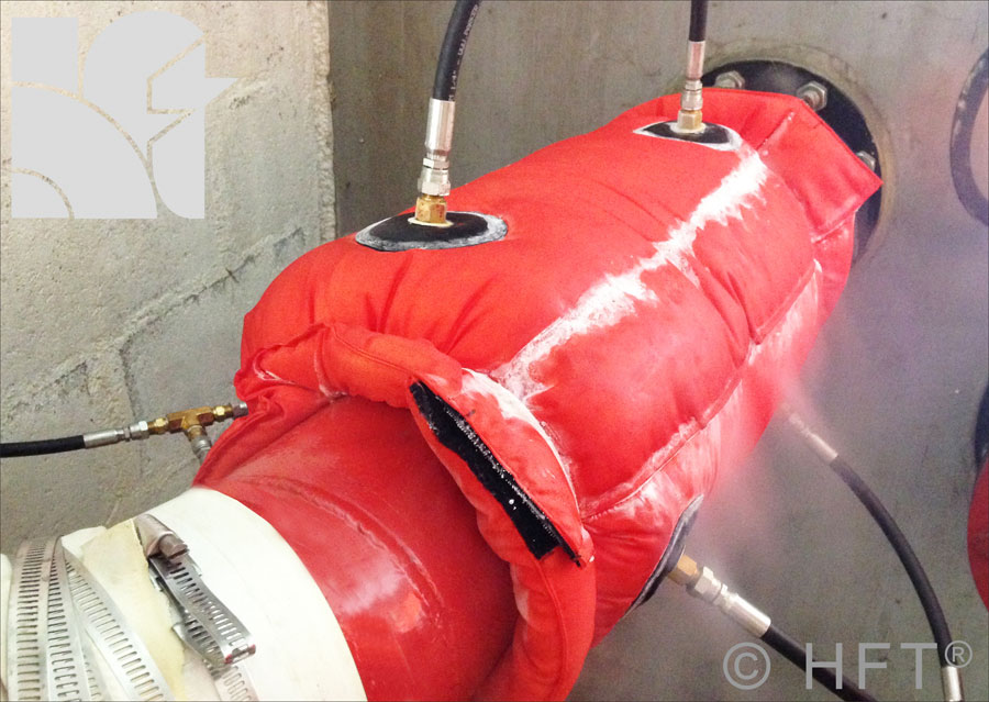 "Qwik-Freezer™ is the industry standard portable CO2 Pipe Freezing System, in use around the World, covering pipe diameters from 3/8"" – 8"" (9 – 200 mm"