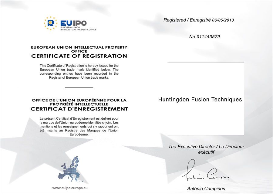 Trademark-Huntingdon-Fusion-Techniques-EU